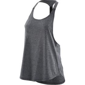 Skins Remote T Bar - Camiseta sin mangas running Mujer - gris